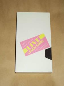 VHS видео лимон Angel * вентилятор Club не продается ......!. много! Lemon Angel 1988,6,19 Live Sakurai Tomo книга с картинками прекрасный . остров ...