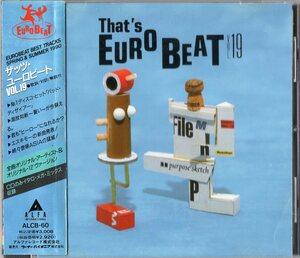 【即決】「THAT'S EUROBEAT VOL.19 /ザッツ・ユーロビート」CD