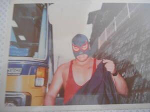 プロレスラー 生写真 マスクマン 名称不明