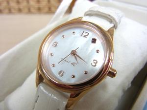 □ canal 4℃/ カナル 4℃ クォーツ 腕時計 レディース 電池切れ □
