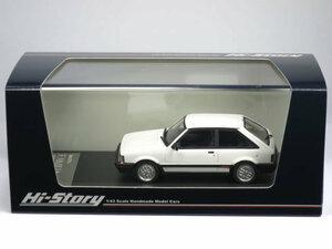 1/43 マツダ ファミリア ターボ 1500 XG 1983 フォーミュラホワイト (HS214WH)
