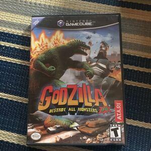 海外限定版 海外版 ゲームキューブ ゴジラ Godzilla Destroy All Monsters の箱