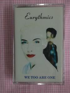 輸入カセット ユーリズミックス WE TOO ARE ONE 新品 1411の商品画像