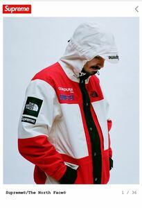 国内正規 新品 Supreme The north face expedition jacket M white box logo シュプリーム / nike jordan tnf undercover