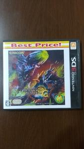 3DS モンスターハンター3G 任天堂 ニンテンドー