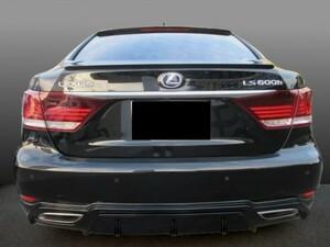 ★期間限定★塗装付でこの価格 レクサスLS 460 後期 ABS製 ハーフエアロ3点 ご希望の色をお受けします③