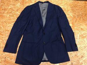 エディフィス EDIFICE テーラードジャケット メンズ ウール100% 日本製 46 紺