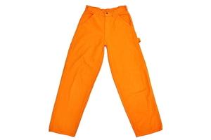 J9614 * PAY DAY  ...  EVERY DAY BENTLE CYCLE *  ...   Америка  USA произведено   Vintage   оранжевый   Художник брюки  W29