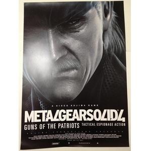メタルギア ソリッド4 ポスター METAL GEAR SOLID 4  非売品 スネーク