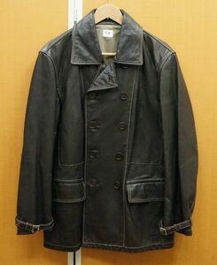 C.P.COMPANY シーピーカンパニー 馬革 レザージャケット ダーク ラウン サイズ 50 メンズ アウター   181205KMC