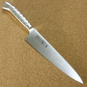 関の刃物 ペティナイフ 15cm (150mm) PRO-S モリブデンスチール 1K-6 鍔付一体型包丁 果物包丁 野菜 果物の皮むき 小型両刃ナイフ 日本製