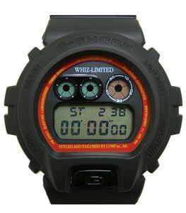★新品★G-SHOCK×WHIZ LIMITED 別注コラボ ブラック 限定/DW-6900FS /UP6 電池交換済