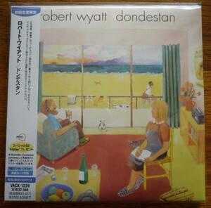 ■【CD/紙ジャケ新品未開封/初回限定盤】 ロバート・ワイアット - ドンデスタン / ROBERT WYATT - DONDESTAN