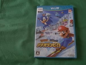 ◆新品 任天堂WiiU マリオ&ソニック AT ソチオリンピック wii u