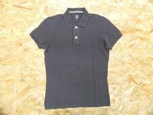 【送料無料】ELEVENTY イレブンティ レディース イタリア製 綿100% カノコ 無地 半袖ポロシャツ 小さいサイズXXS チャコールグレー