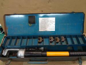 ■IZUMI イズミ 手動油圧式圧着工具 EP-365 手動油圧式T型コネクタ用 泉精器【6】