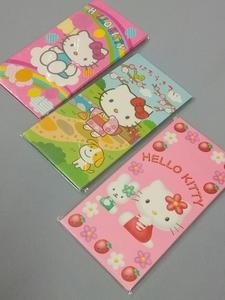 【新品】ハローキティ♪ポチ袋/お年玉袋/メッセージカード入れ♪3柄セット♪シール付き サンリオ1999.2005