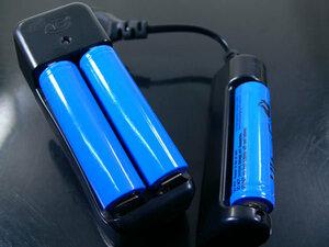 18650 リチウムイオン 充電池 2800mahx1本*同梱OK