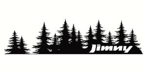 ジムニー スズキ オフロード アウトドア クロカン 4WD ステッカー 205