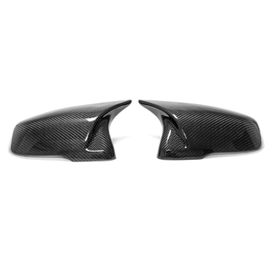 BMW 2 series F45 X1 F48 X2 F39 F46 F44 F49 F52 G29 carbon made exchange type cow rectangle mirror cover left right set free shipping