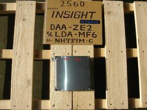 Insight  * DAA-ZE2 * LDA-E/NH737M/ECU * 1K000-RBJ-J05 *  * 22215km *  Инспекция уже !!(' * ')