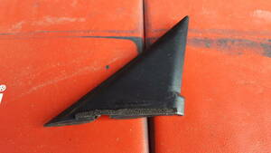 S14シルビア 右側 運転席側 ドアミラー裏インナーカバー 希少!内装三角パネル
