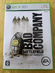 美品 BAD COMPANY BATTLEFIELD  バトルフィールド:バッドカンパニー XBOX360