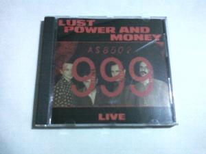 送料込 999 - Lust Power And Money☆The Adverts Vibrators Stiff Little Fingers Sex Pistols Boys