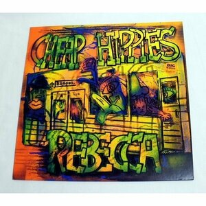 レベッカ「CHEAP HIPPIES/When a Woman Loves a Man」12inch・シングル・レコード 再生良好