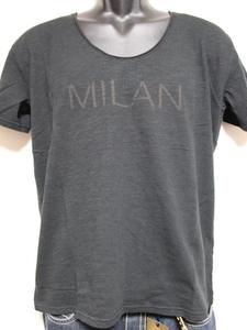 エドハーディー ED HARDY メンズ半袖Tシャツ ブラック Mサイズ IT052 新品