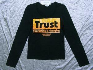 パシフィックコースト PACIFIC COAST レディース長袖Tシャツ ブラック Mサイズ 新品