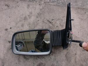 * Peugeot 205 CTI 91 year 20DFC left door mirror ( stock No:A10270) *
