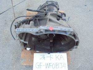 Ford KA 12 year GF-WF0BJ4 GF-WFOBJ4 5 speed mission