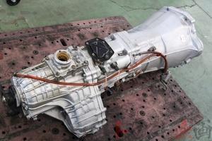 4133328-1 リビルト品 純正5速ミッション 前期プッシュ式 スカイライン GT-R BNR32 中期 トラスト企画