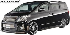 【M's】トヨタ 20系 アルファード 後期 (2011/11-2014/12) ROJAM IRT GENIK エアロ 3Pキット Ver.1 (F+S+R)//FRP ロジャム フルエアロ