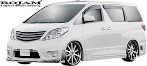 【M's】トヨタ 20系 アルファード 前期 (2008/5-2011/10) ROJAM IRT GENIK エアロ 3Pキット Ver.1 (F+S+R)//FRP ロジャム フルエアロ