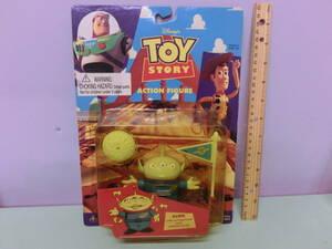 トイストーリー◆エイリアン アクション フィギュア 人形◆TOY STORY 映画 Toy Story ALIEN Figure ディズニー 当時物