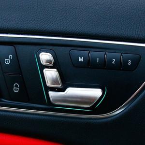 ベンツ シート 調整 アジャスト ボタン カバー デコレーション トリム W166W246W204W218W212X204X166 ML GL GLK 6pcs