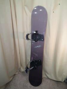 中古 スノーボード 157㎝ ステッウインビンディング付き ゼビオ03-04モデル フリースタイルボード