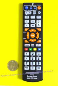 DVR-W1 / DVR-W1V2 用代替 + 日立TV (学習リモコン) 新品 3BuW1Hi-23/ BUFFALO / バッファロー レコーダーWooo(ウー)