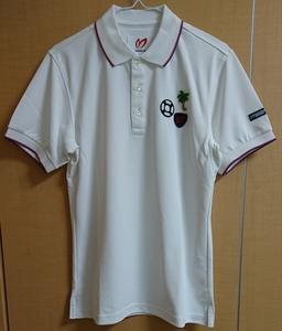 タグ付き新品未使用 ゴルフ ポロシャツ マスターバニー パーリーゲイツ ジャックバニー 白 ホワイト サイズ3
