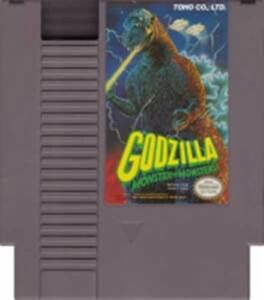 海外限定版 海外版 ファミコン ゴジラ Godzilla Monster Of Monsters NES