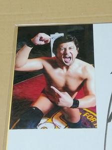 プロレスラー サイン色紙 大森隆男
