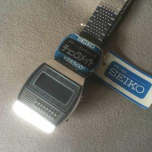 K10 SEIKO Seiko checkmate наручные часы сигнализация 0359-5000 неиспользуемый товар текущее состояние утиль