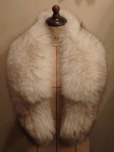 昭和ヴィンテージ60's70's80's毛皮襟巻き①ティペット付け襟マフラーリアルファーショール着物和装フォーマル成人式ΓOT