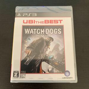 【新品、未開封品】PS3 ユービーアイ・ザ・ベスト ウォッチドッグス