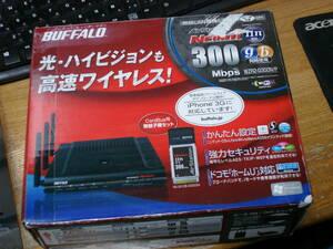 BUFFALO 300Mbps 親機WZR2-G300N+ハイパワー子機WLI2-CB-G300Nのセット品 送料無料