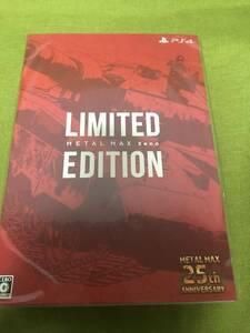 ★PS4版 METAL MAX Xeno Limited Edition メタルマックス ゼノ