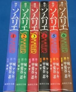 中古 ソムリエ文庫全6巻セット