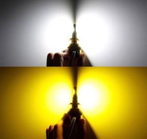 トヨタ◆2色切替 LEDフォグランプ 3000k 6000k LED・COB H8/H11-H16◆アクア H26.12~H27.10 NHP10 専用